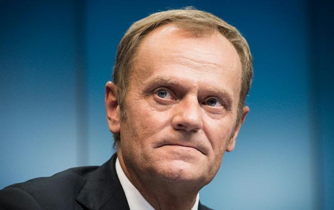 Туск— Порошенко: ЕСдолжен закончить некоторые внутренние процедуры для представления Украине безвиза