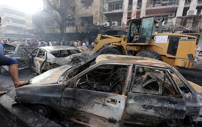Фото: взрыв в Багдаде