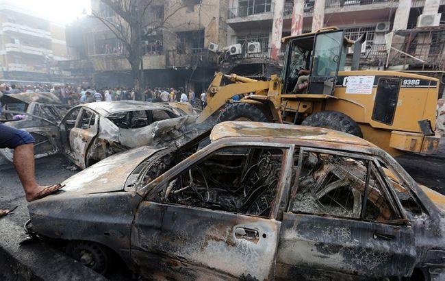 В Ираке заявили о гибели 172 человек из-за теракта в Багдаде