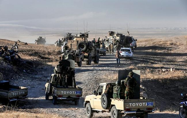 Фото: наступление на Мосул