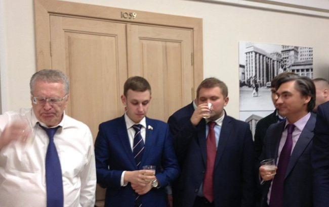 Фото: Жириновський і компанія (rbc.ru)
