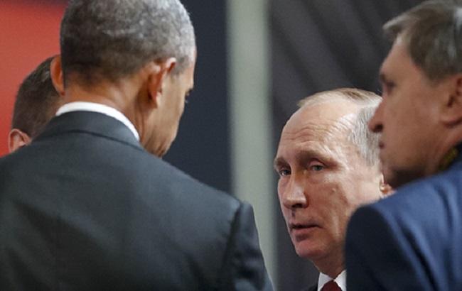 Фото: Обама и Путин в Перу