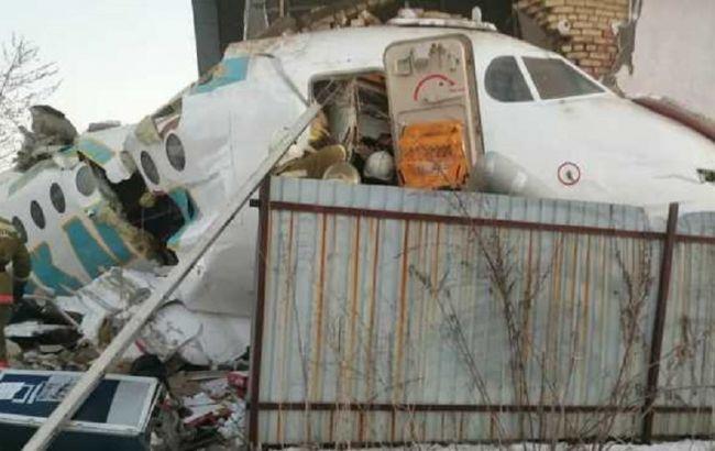 Очевидцы рассказали детали авиакатастрофы в Казахстане