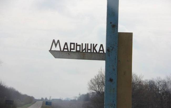 Боевики больше часа обстреливали контрольный пост «Марьинка»