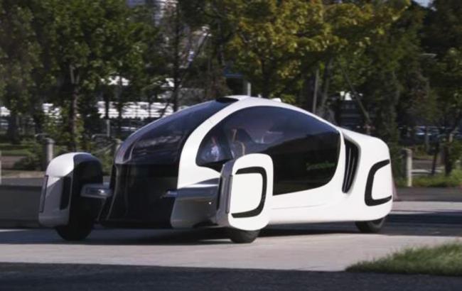 Япония представила электромобиль, на90% сделанный изпластмассы