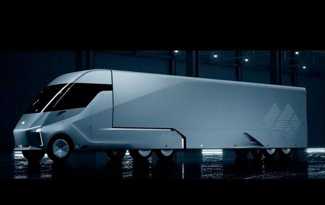 Головний конкурент Google представив електричну вантажівку з автопілотом