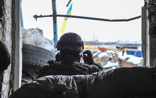 """Фото: обстрел Авдеевки ведется боевиками из """"Градов"""" (""""УНИАН"""")"""