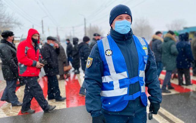 В Украине продолжают перекрывать трассы из-за повышения цен на газ