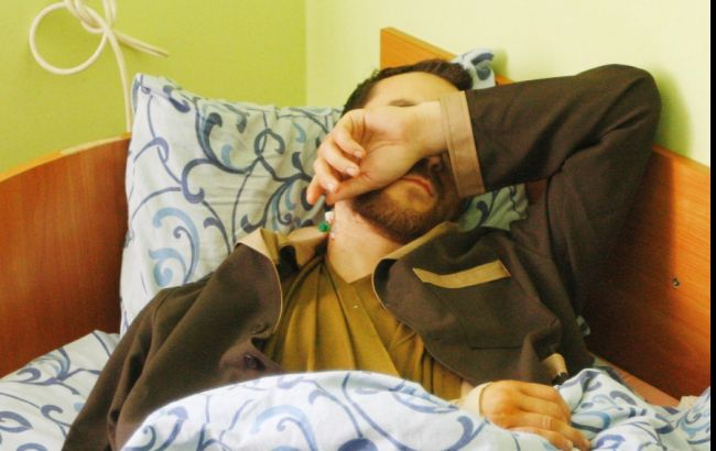 Фото: Євген Єрофєєв в госпіталі