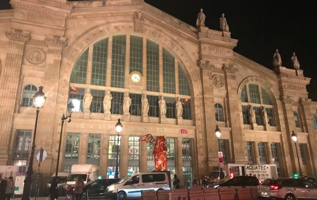 В Париже из-за подозрительного предмета эвакуировали вокзал