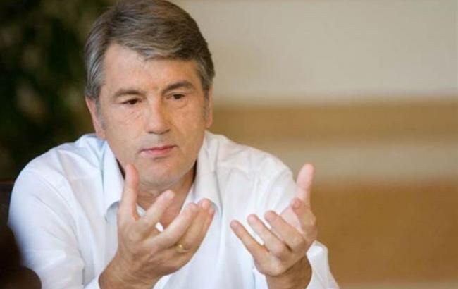 Виктов Ющенко - третий глава НБУ