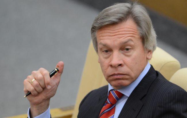 Фото: сенатор Алексей Пушков
