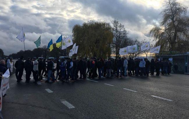 В Україні противники земельної реформи перекрили дороги