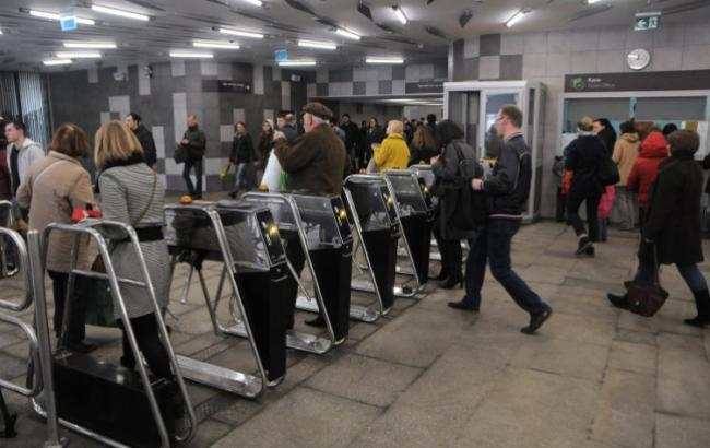 Фото: метро (УНИАН)