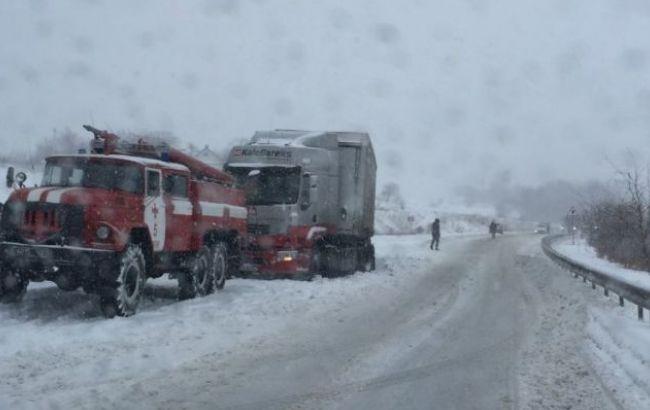 Фото: непогода в Украине