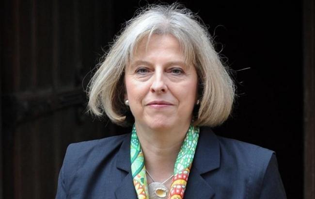Фото: голова уряду Великобританії Тереза Мей
