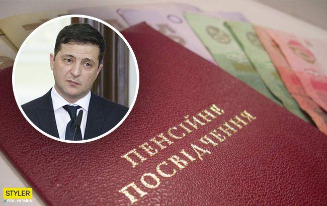 Мы не можем просто печатать деньги: Зеленский рассказал о повышении пенсий