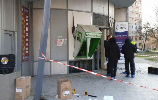 В Харькове неизвестные подорвали банкомат