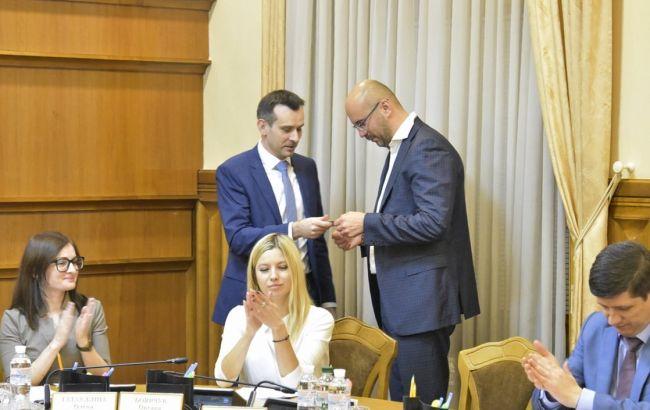ЦВК зареєструвала Рудика народним депутатом