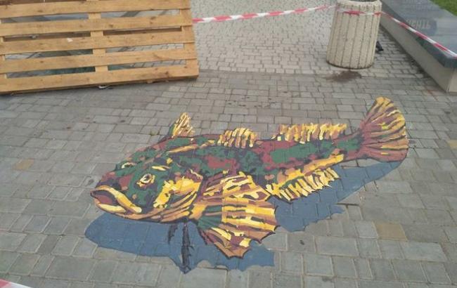 Фото: Новий малюнок в Одесі (segodnya.ua)