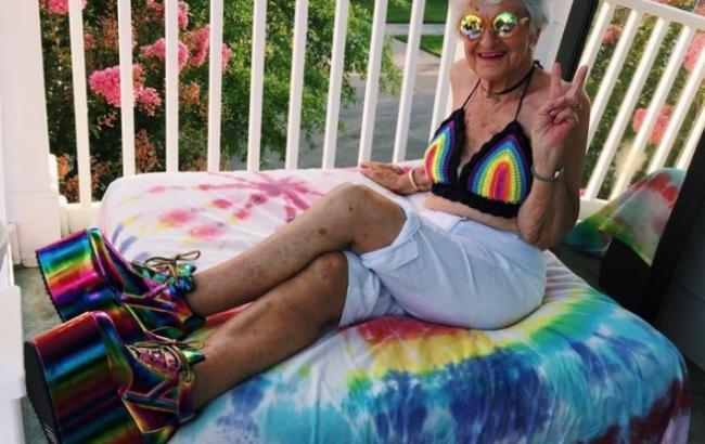 Американская модница в 87 лет собрала полтора миллиона поклонников
