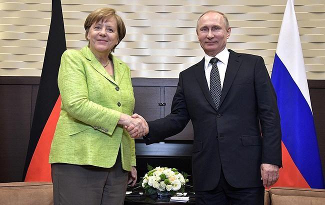 Переговоры Владимира Путина иМеркель пройдут вГермании 18августа