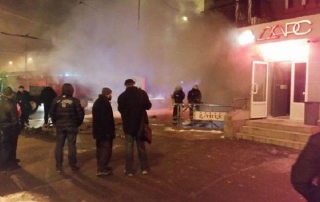 Фото: взрыв в центре Харькова