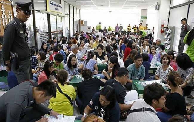 Фото: референдум в Таїланді