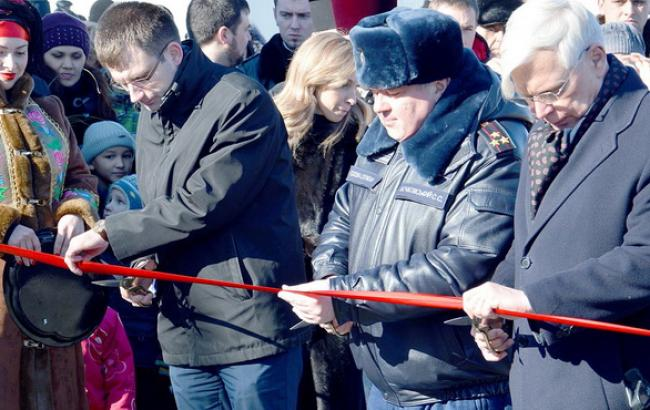 В Павлограде открыт самый большой модульный городок для переселенцев в Украине