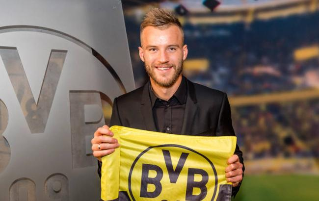 Ярмоленко потрапив дотоп-10 кращих футболістів Бундесліги