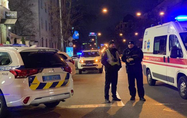В полиции рассказали подробности стрельбы в центре Киева