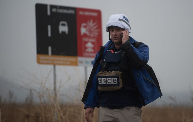 Боевики неделю блокируют передвижение миссии ОБСЕ возле участков разведения сил