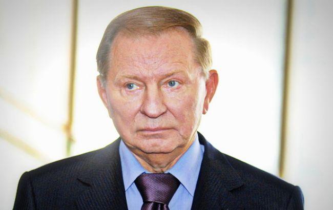 Фото: представитель Украины в контактной группе Леонид Кучма