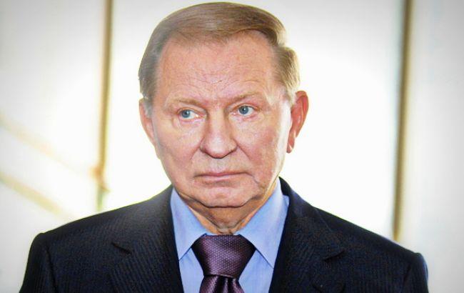 Фото: представник України в контактній групі Леонід Кучма