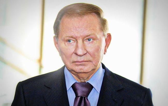Фото: представник України на переговорах Леонід Кучма