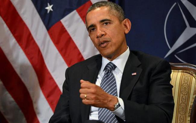 """Обама назвав дії Росії в Україні """"загрозою миру"""""""