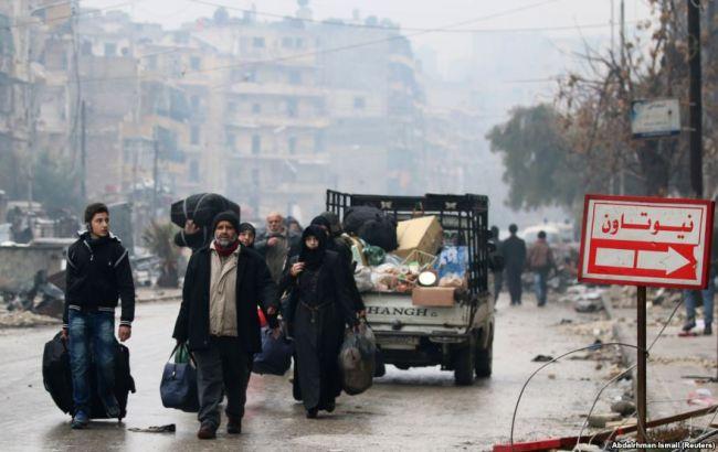 Турция построит лагерь для беженцев изАлеппо