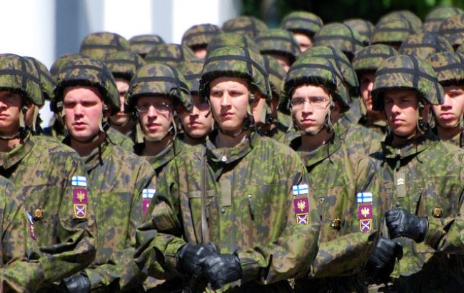 Фото: Чисельність фінської армії збільшиться на 20%