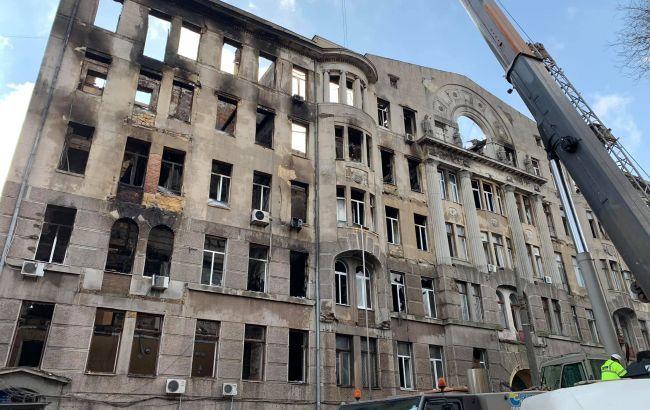 В Одесі знайшли тіло ще одного загиблого при пожежі в коледжі