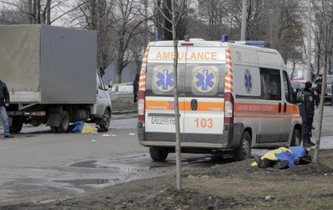 Во время теракта в Харькове взорвалась противопехотная мина, - прокуратура