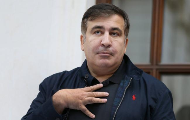 У Саакашвили заявили, что СБУ проводит следственные действия по месту проживания политика