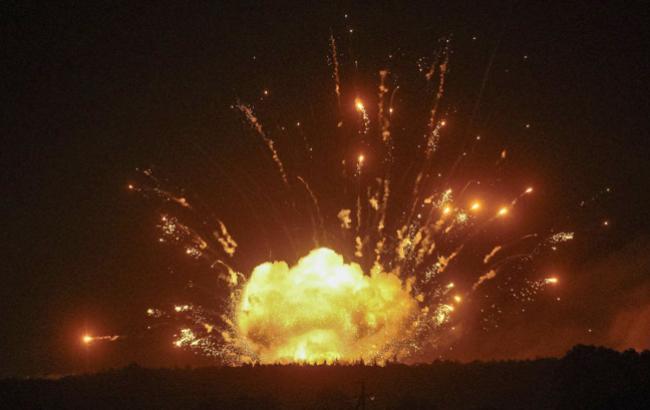 На арсеналах у Балаклії після утилізації снарядів почалася пожежа, проходить евакуація