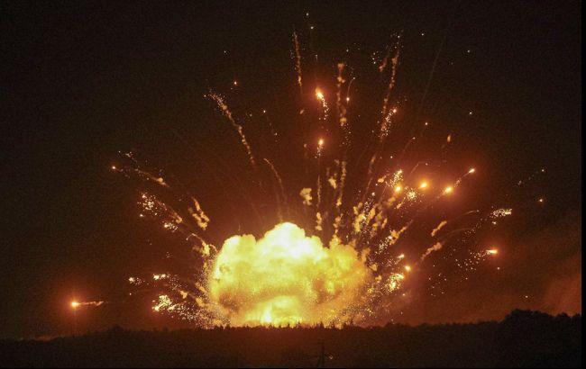 Вибухи під Вінницею: причиною пожежі міг стати безпілотник