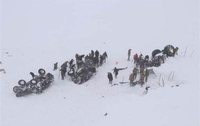 Сходження лавини в Туреччині: кількість жертв наближається до 40