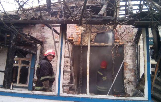 Фото: пожежа в Черкаській області (ДСНС)