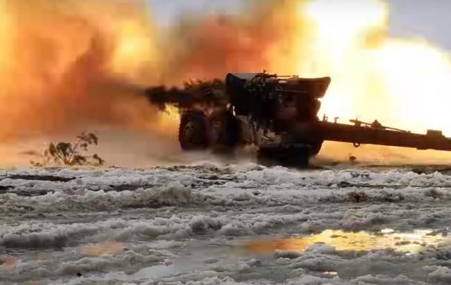 """Фото: Испытания снарядов (youtube.com/Державний концерн """"Укроборонпром"""")"""