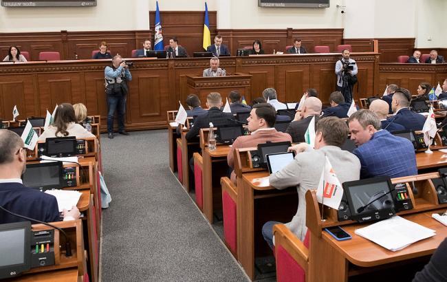 Фото: засідання Київради (kiev.klichko.org)