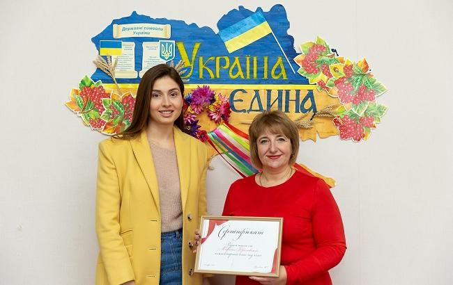 Марина Ярославська передала гроші від свого першого івенту на благодійність