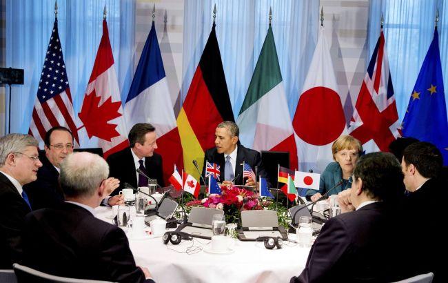 Країни G7 підтримали продовження санкцій проти Росії
