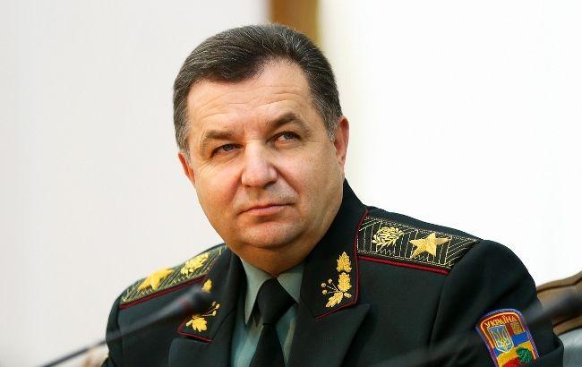 Полторак констатировал срыв перемирия наДонбассе